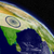 india with flag from space stock photo © harlekino