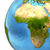 african continent on earth stock photo © harlekino