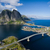 Lofoten aerial view stock photo © Harlekino