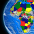 african continent on political globe stock photo © harlekino