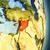 Ásia · mapa · Síria · país · mapas · botão - foto stock © harlekino