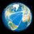 実例 · 世界的な · スペース · 地球 · 画像 - ストックフォト © harlekino