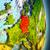 harita · federal · cumhuriyet · Almanya · bayrak · yalıtılmış - stok fotoğraf © harlekino