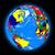 northern hemisphere on planet earth stock photo © harlekino