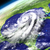 orbit view of hurricane matthew stock photo © harlekino
