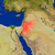 Jordânia · vermelho · espaço · modelo · ilustração · 3d - foto stock © harlekino