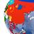 Азии · регион · политический · мира · иллюстрация · белый - Сток-фото © harlekino