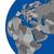 emea region continent on political globe stock photo © harlekino
