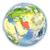 harita · İran · dünya · cam · arka · plan - stok fotoğraf © harlekino