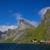 fjord on lofoten islands stock photo © harlekino