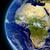 Африка · пространстве · атмосфера · облака · Элементы · изображение - Сток-фото © Harlekino