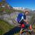 moço · caiaque · cachoeira · esportes · rio · cor - foto stock © harlekino