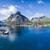 антенна · Панорама · живописный · деревне · Норвегия - Сток-фото © Harlekino