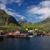 picturesque village on lofoten stock photo © harlekino