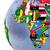 afrikaanse · continent · politiek · wereldbol · illustratie · atmosferisch - stockfoto © harlekino