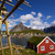 fishing hut on lofoten stock photo © harlekino