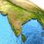 indian subcontinent on earth stock photo © harlekino