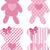 Nounours · ensemble · objets · vecteur · pelucheux · personnage - photo stock © hayaship