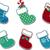 cute christmas socks stock photo © hayaship