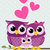 cute owl family stock photo © hayaship