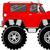 monster truck 4x4 cartoon stock photo © hayaship