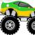 4x4 race car cartoon stock photo © hayaship