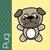 puppy · cartoon · vector · illustratie · cute · hond - stockfoto © hayaship