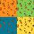 giallo · semplice · modello · di · fiore · texture · sfondo · tessuto - foto d'archivio © helenstock
