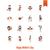 иконки · простой · вектора · чистой · работу - Сток-фото © helenstock