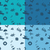 четыре · различный · цветами · лет · пляж · вектора - Сток-фото © helenstock
