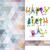 gâteau · d'anniversaire · carte · de · vœux · design · modèle · cute · bougies - photo stock © helenstock