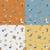 autumn seamless pattern stock photo © helenstock