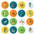 iconen · eenvoudige · vector · schone · werk - stockfoto © helenstock