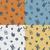 Paskalya · dört · farklı · renkler · vektör - stok fotoğraf © helenstock
