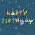 bolo · de · aniversário · cartão · projeto · modelo · bonitinho · velas - foto stock © helenstock