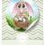 buona · pasqua · coniglio · coniglio · retro · vettore · carta - foto d'archivio © helenstock