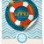 mar · criaturas · cor · vintage · cartão · postal · modelo - foto stock © helenstock