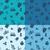 farklı · dizayn · dört · renkler · örnek - stok fotoğraf © helenstock