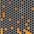 Geel · zeshoek · vector · afbeelding · abstract · achtergrond - stockfoto © helenstock