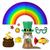 帽子 · 虹 · 聖パトリックの日 · アイルランド · 緑 - ストックフォト © heliburcka