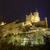 castelo · noite · antigo · real · palácio · Espanha - foto stock © HERRAEZ
