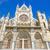 detail of the facade of leon cathedral castilla y leon spain stock photo © herraez