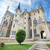famous landmark astorga epsiscopal palace in astorga leon spain stock photo © herraez