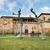 cênico · ver · igreja · la · Espanha · tempestuoso - foto stock © HERRAEZ