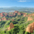 Wonderful panorama landscape of Las Medulas, ancient roman mines in Leon, Spain. stock photo © HERRAEZ