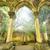 anciens · gothique · Fantasy · paysage · bâtiment · lumière - photo stock © HERRAEZ