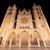 catedral · noite · Espanha · paisagem · escuro · estátua - foto stock © HERRAEZ