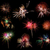 gouden · vuurwerk · licht · glas · bril · winter - stockfoto © herraez