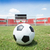 futebol · meta · grama · esportes · futebol · campo - foto stock © hin255