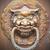 Çin · aslan · kapı · Metal · sanat - stok fotoğraf © hin255